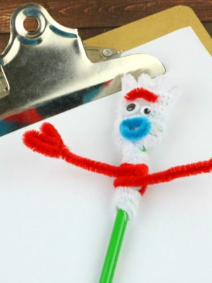 Forky Pencil Topper Craft