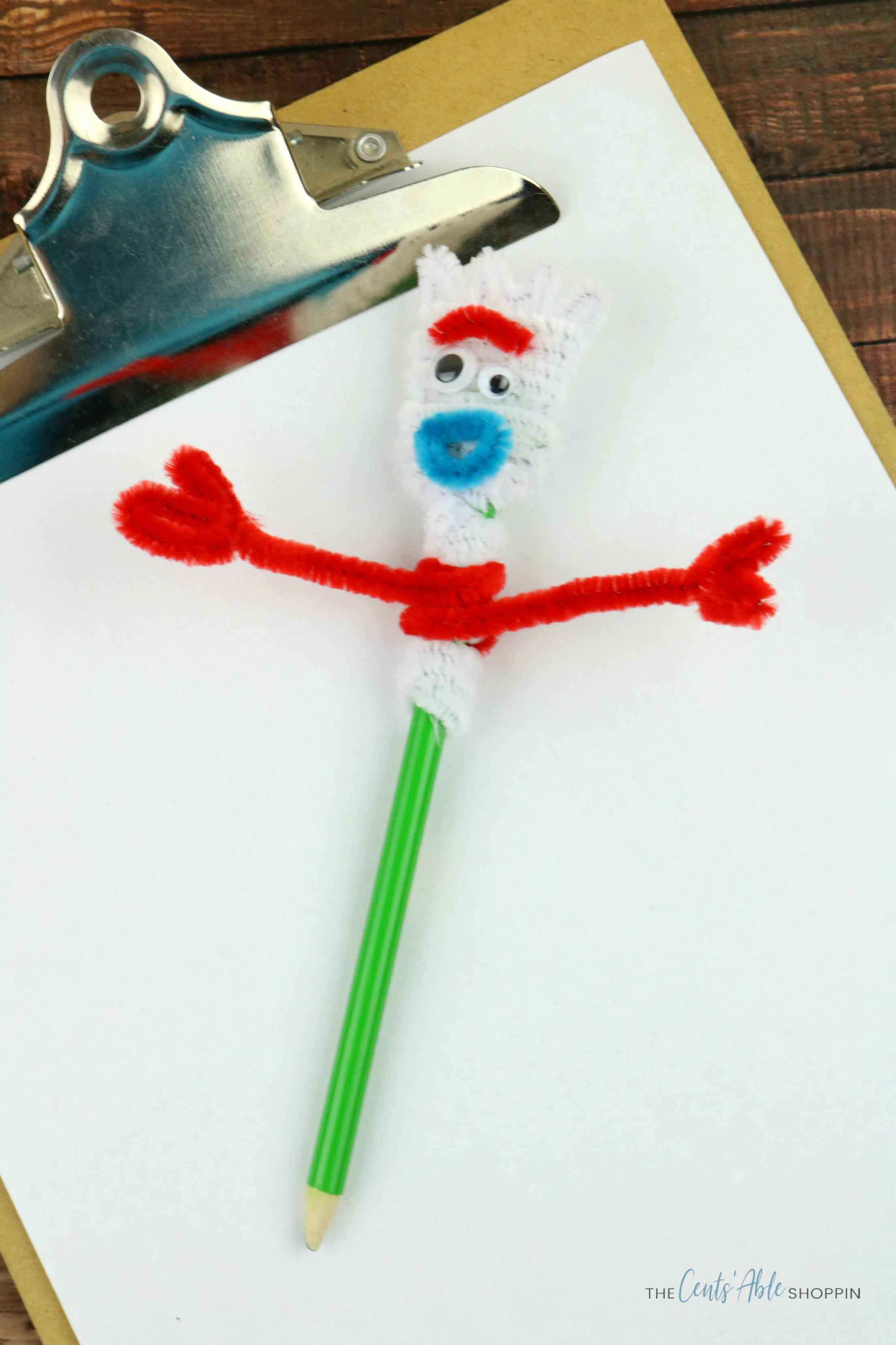 Forky Pencil Topper