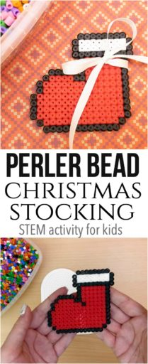 Perler Bead Christmas Stocking