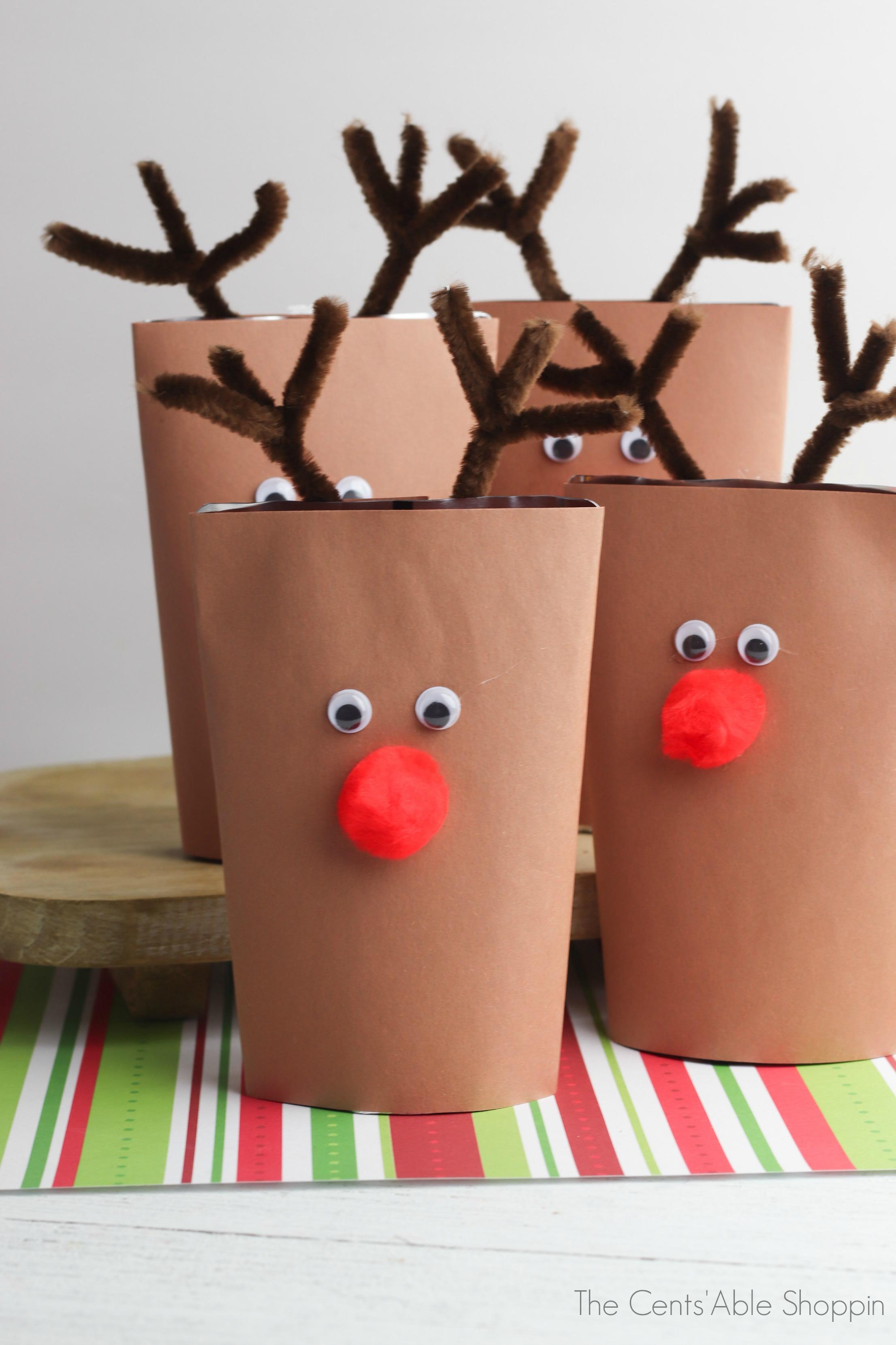 Reindeer Drink Pouch DIY