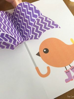 Spring Umbrella Card Craft