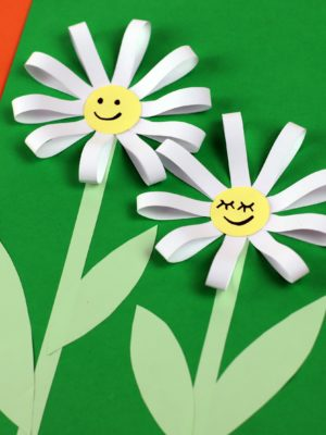 3D Paper Sunflower Craft