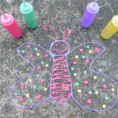 DIY Outdoor Puffy Paint