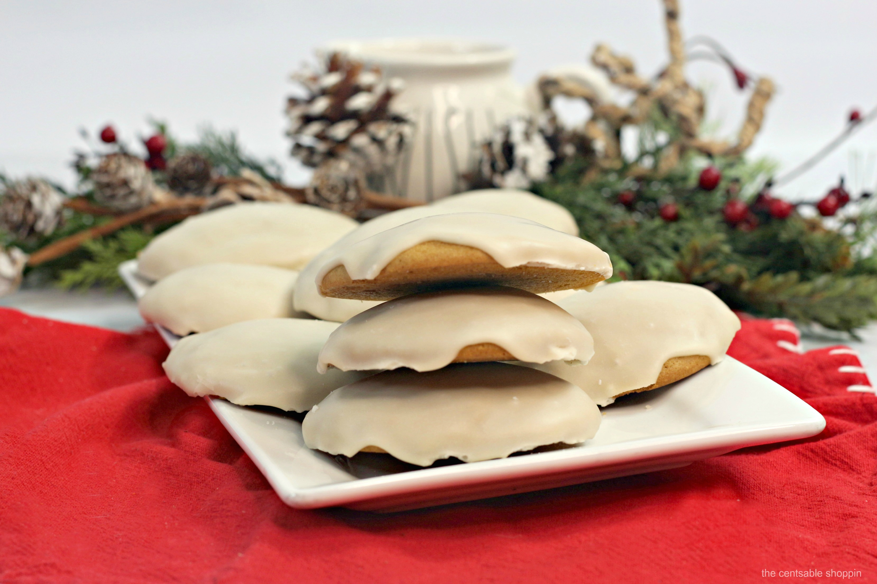 Amish Maple Iced Cookies