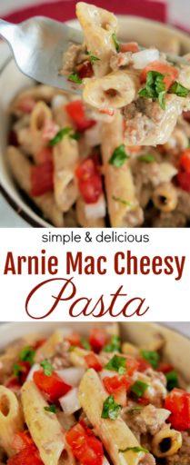 Arnie Mac Cheesy Pasta