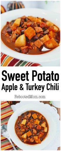 Sweet Potato, Apple & Turkey Chili