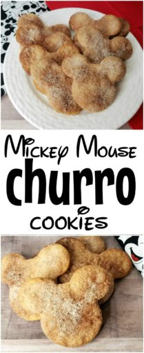 Mickey Mouse Churro Cookies