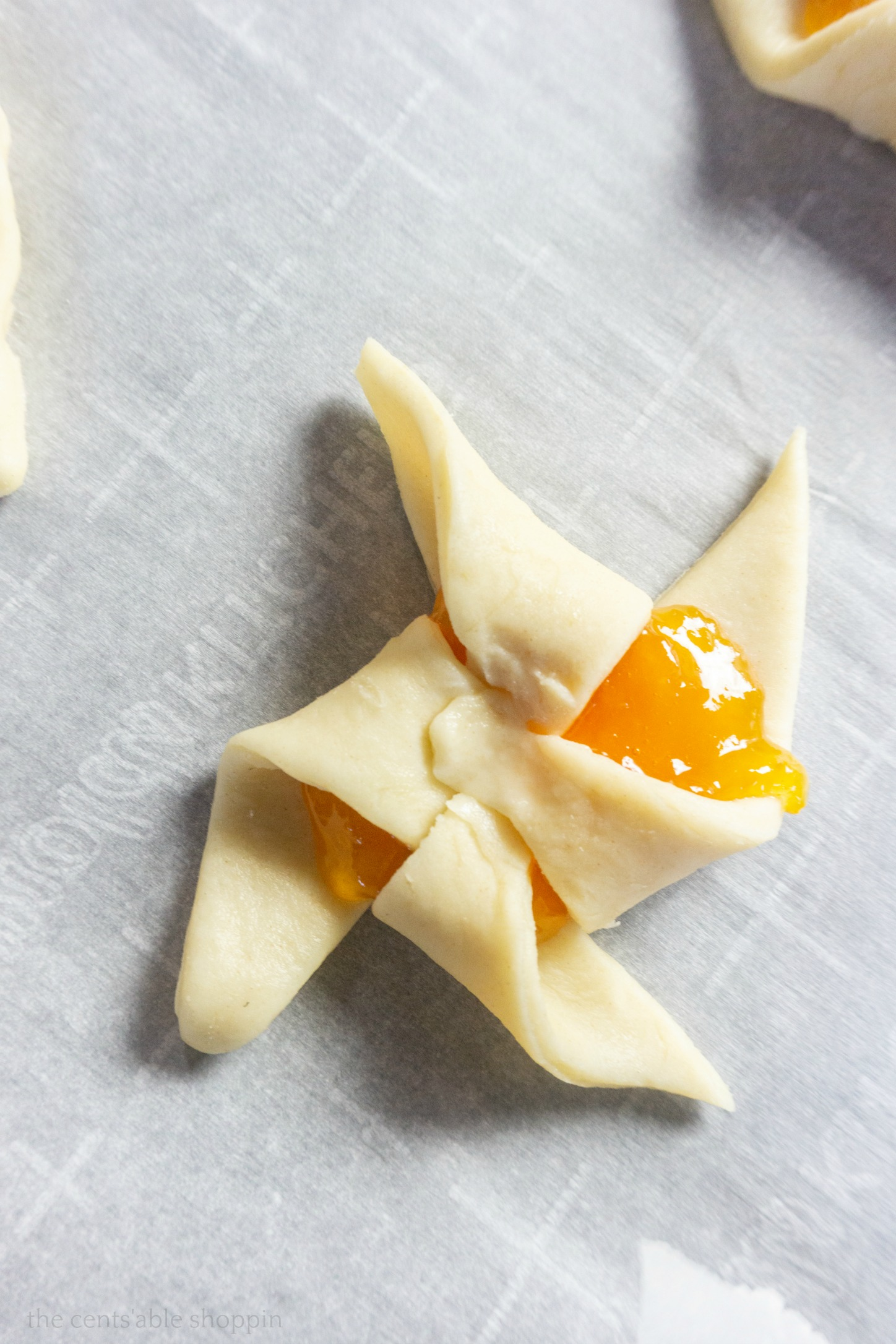 Apricot Pinwheels