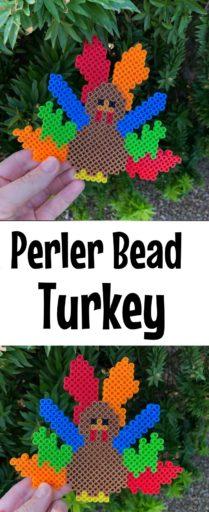 Perler Bead Turkey