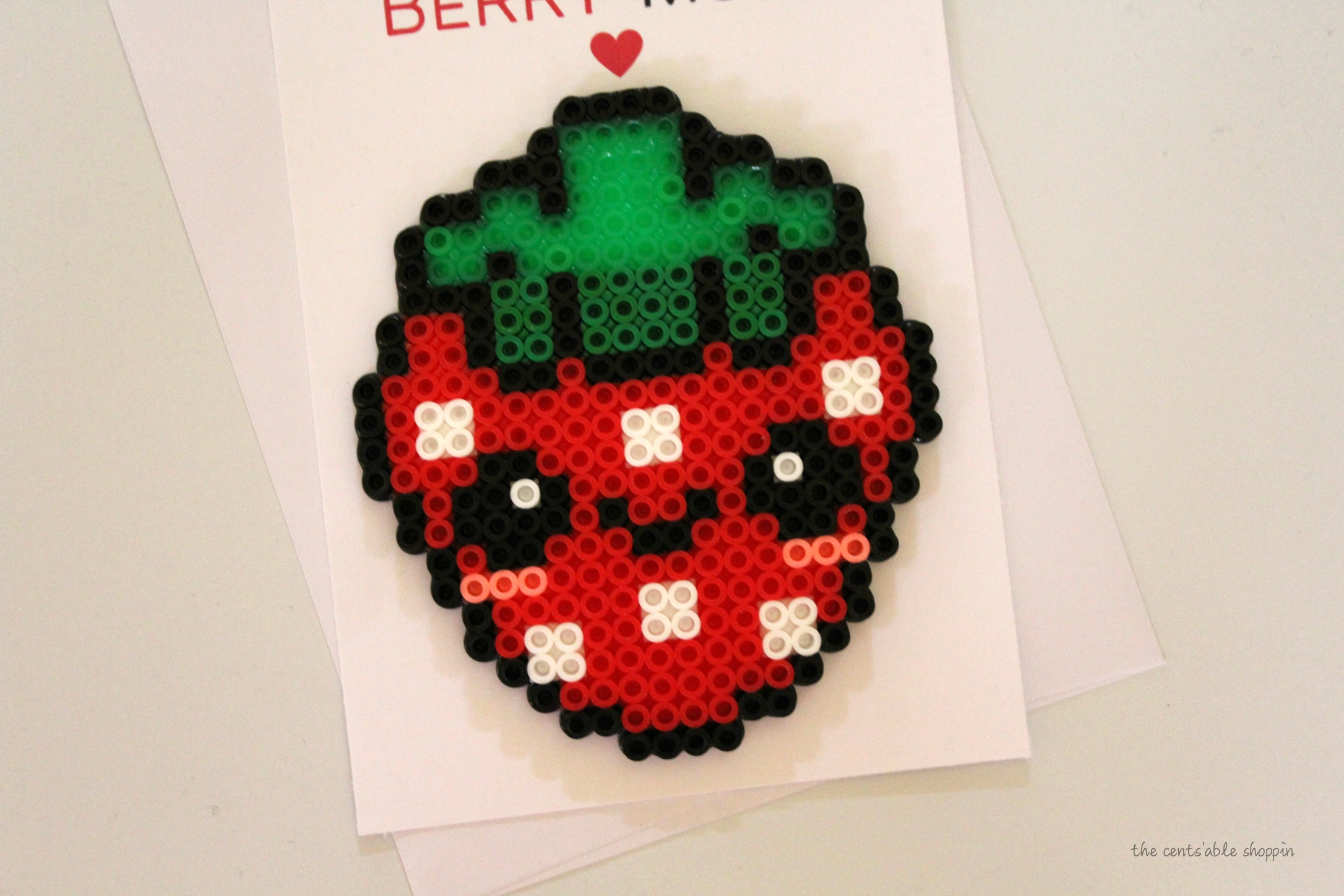 Strawberry Love Pun Card