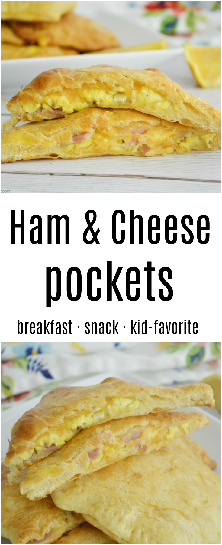 Ham and Cheese Pockets