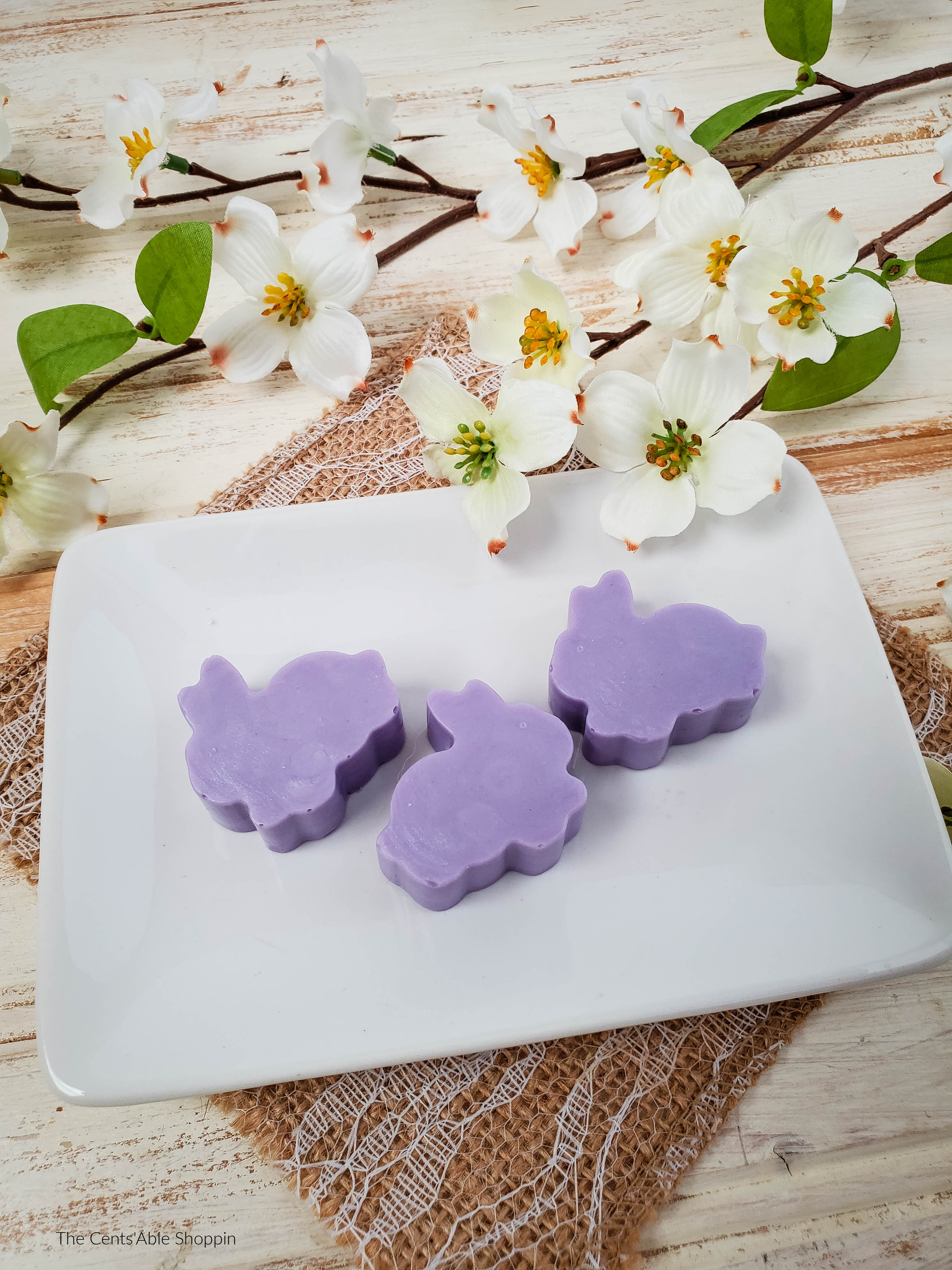 Lilac Bunny Soaps