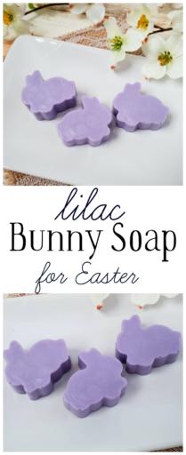 Lilac Bunny Soap