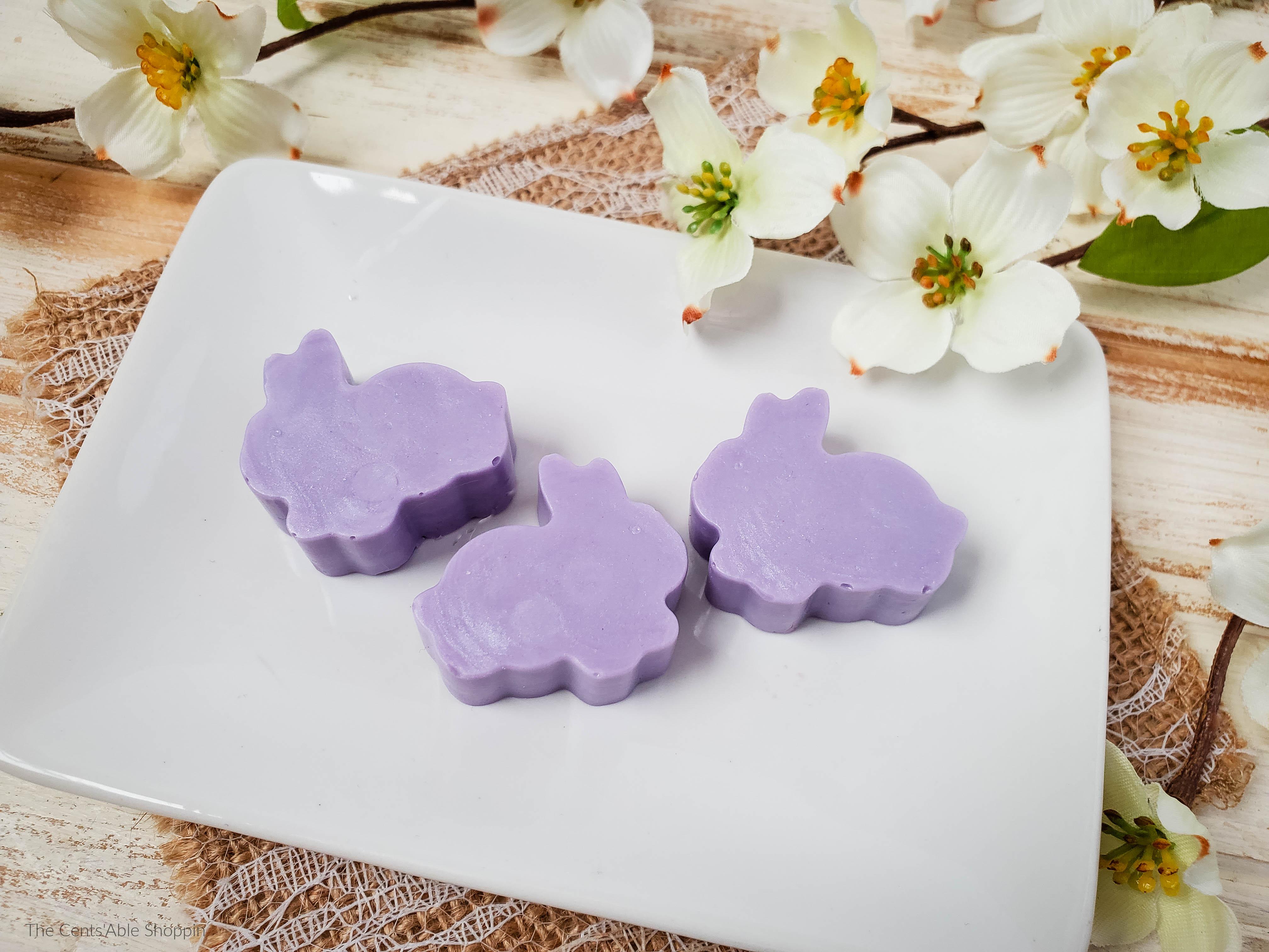 Lilac Bunny Soap DIY