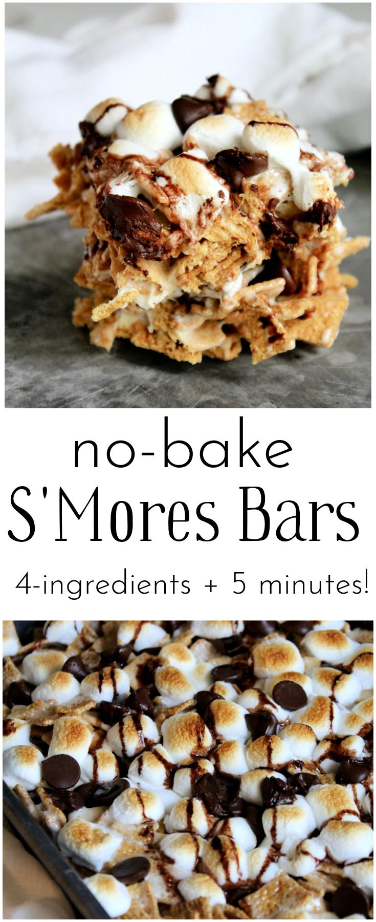No Bake S'mores Bars