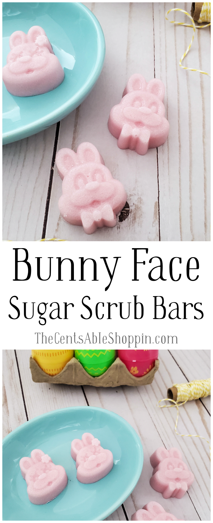 Bunny Sugar Scrub Bars