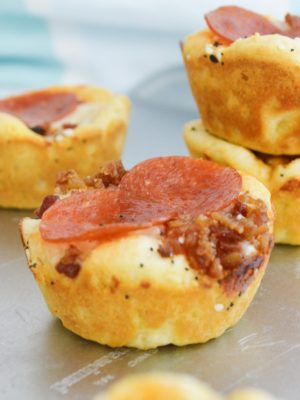 Meat Lovers Pizza Cups