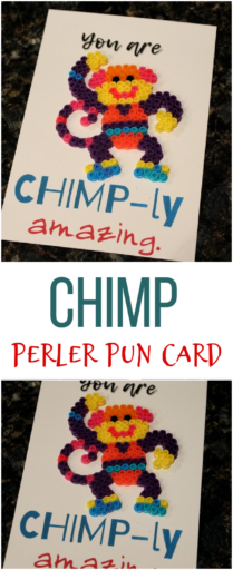 Chimp Pun Card