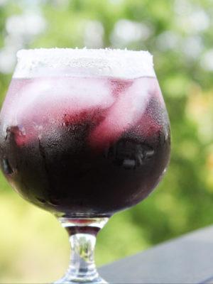 Purple Passion Punch Cocktail