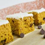 Cake Mix Pumpkin Bars